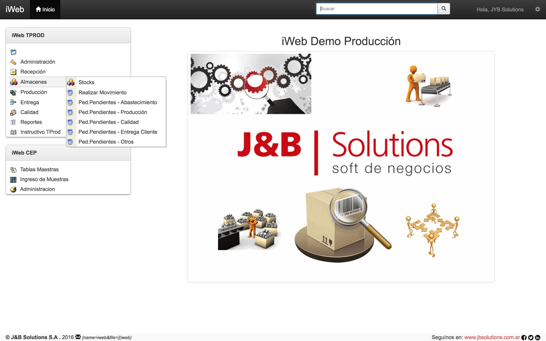 Tprod Pendientes J&B Solutions